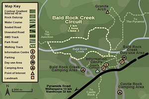 Bald Rock Creek Circuit