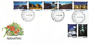 National Park series first day cover