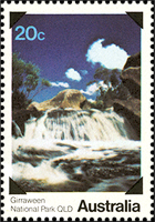 Girraween National Park stamp