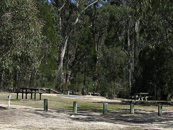 Baldrock Creek camping sites.